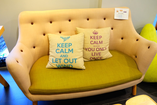 Comfort Design Singapore Couch and Cushion -  AspirantSG