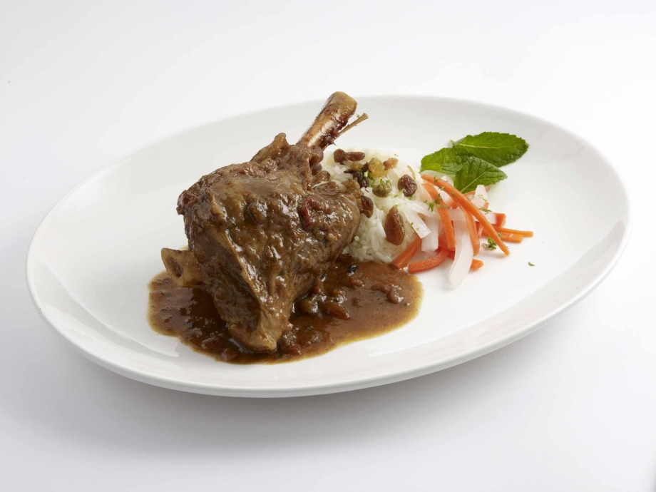 Harry's - Curried Lamb Shank