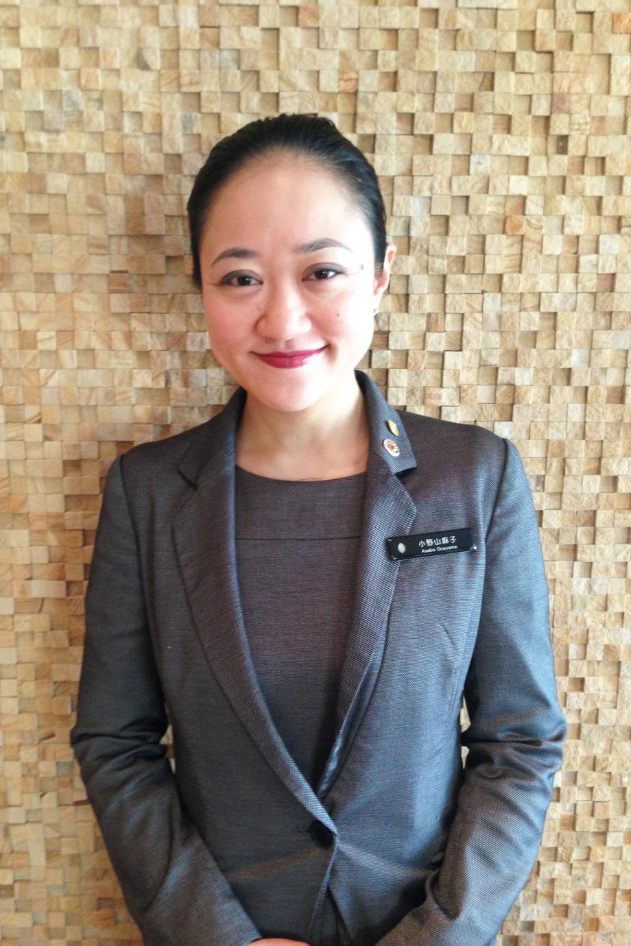 Ms. Asako Onoyama, Chief Concierge of InterContinental Osaka - AspirantSG