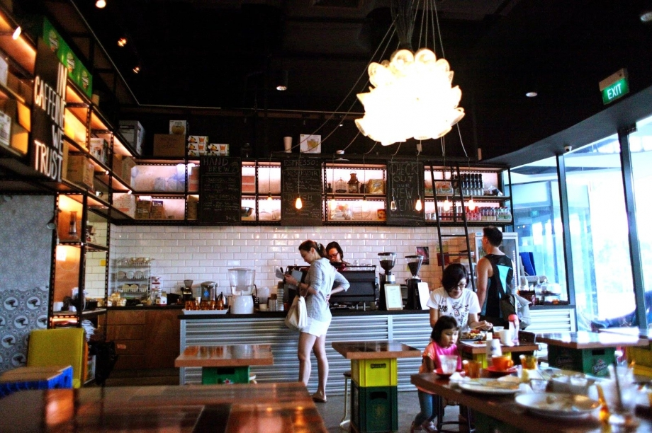 Revolution Coffee Cafe Singapore - AspirantSG