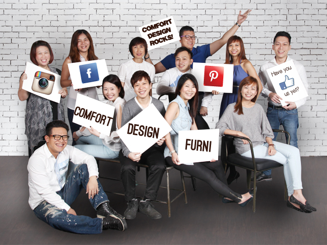 Comfort Design Singapore Sales Group Team - AspirantSG