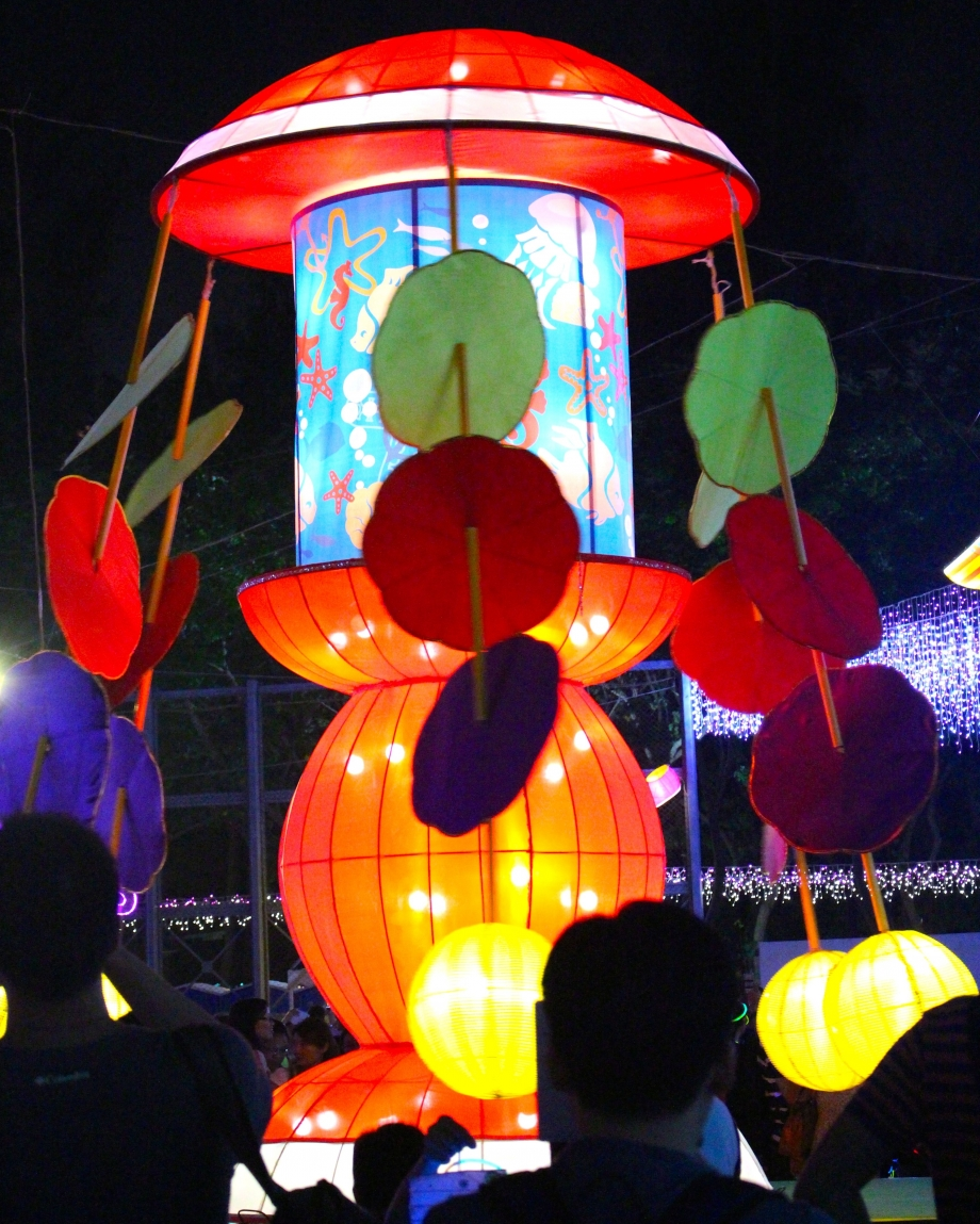 Giant Lanterns At Mid-Autumn Carnival Hong Kong - AspirantSG