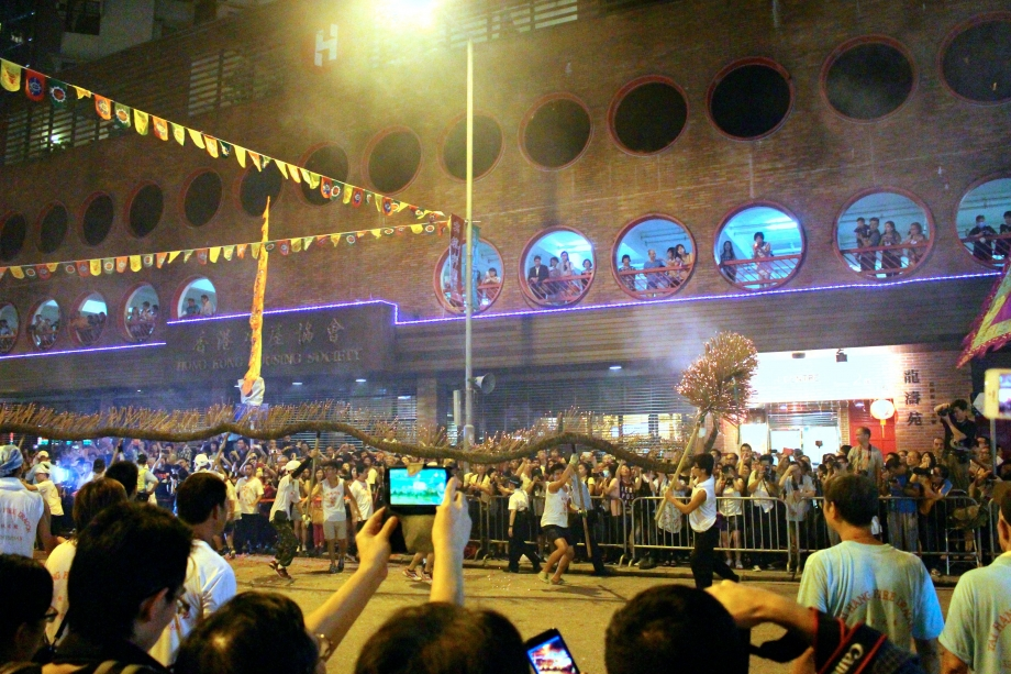 Tai Hang Fire Dragon In Procession Hong Kong - AspirantSG