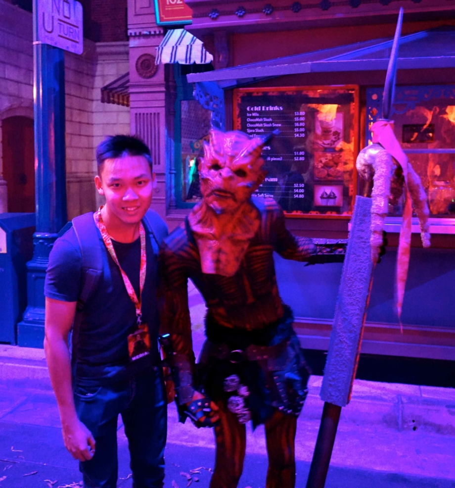 Demon forces Halloween Horror Nights 4 - AspirantSG