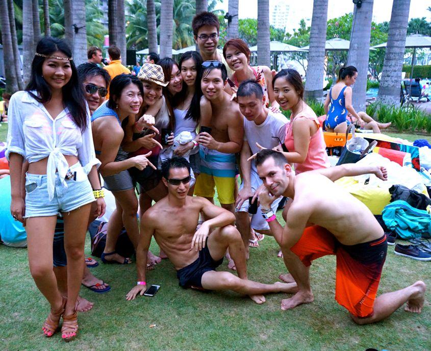 Group Photo W Singapore Sentosa Cove - AspirantSG