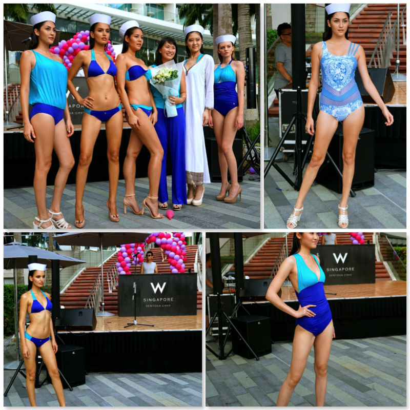 K.BLU Swim Wear Fashion Show At W Singapore Sentosa Cove - AspirantSG