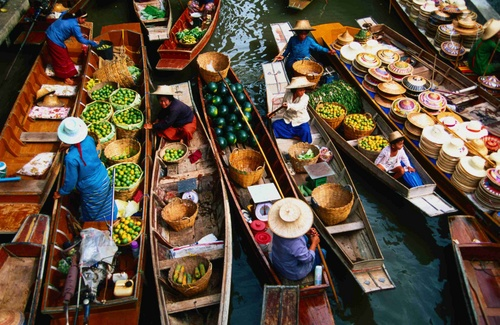 Floating Market Bangkok AspirantSG