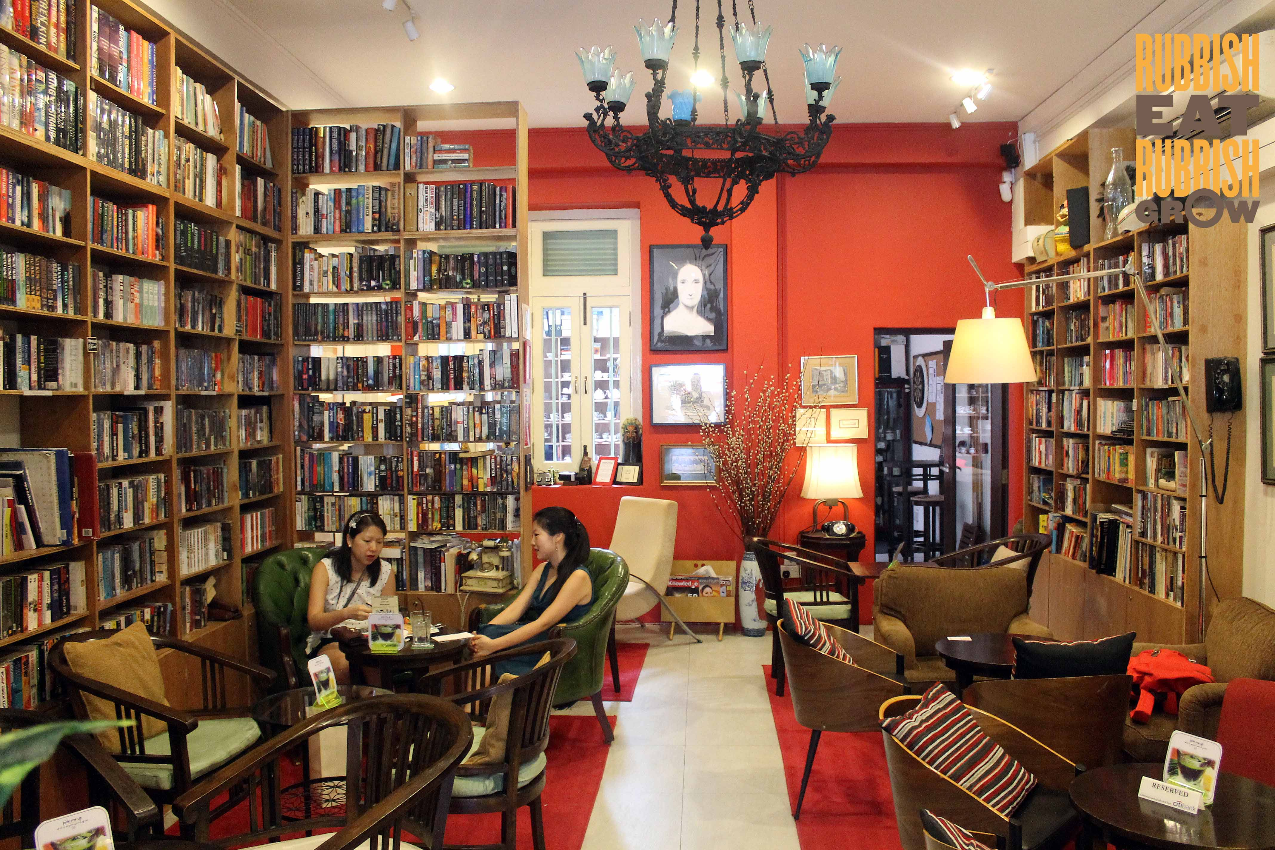 Reading Room Cafe Singapore - AspirantSG