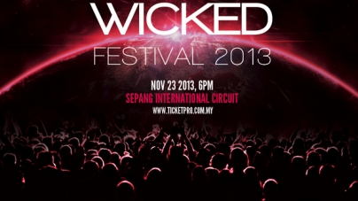 Win Exclusive VIP Passes To The Wicked Festival 2013 Malaysia