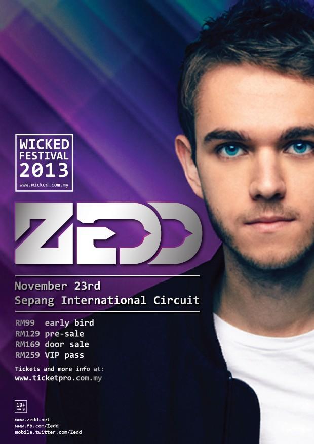 Zedd At The Wicked 2013 - AspirantSG