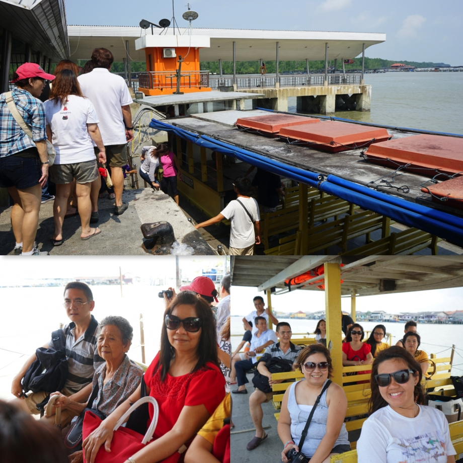 Boat Trip To Holiday House In Kukup - AspirantSG