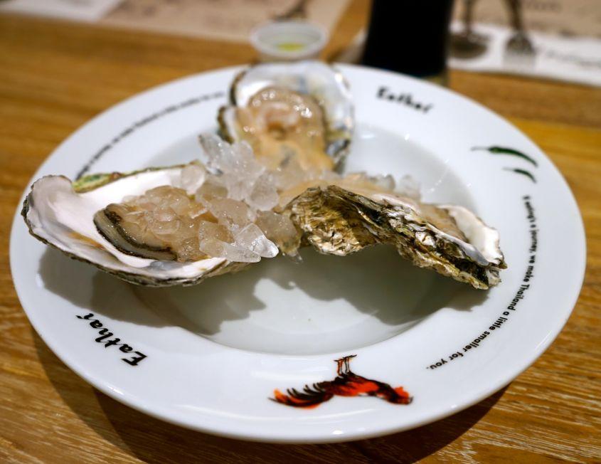 Oysters At Eathai - AspirantSG