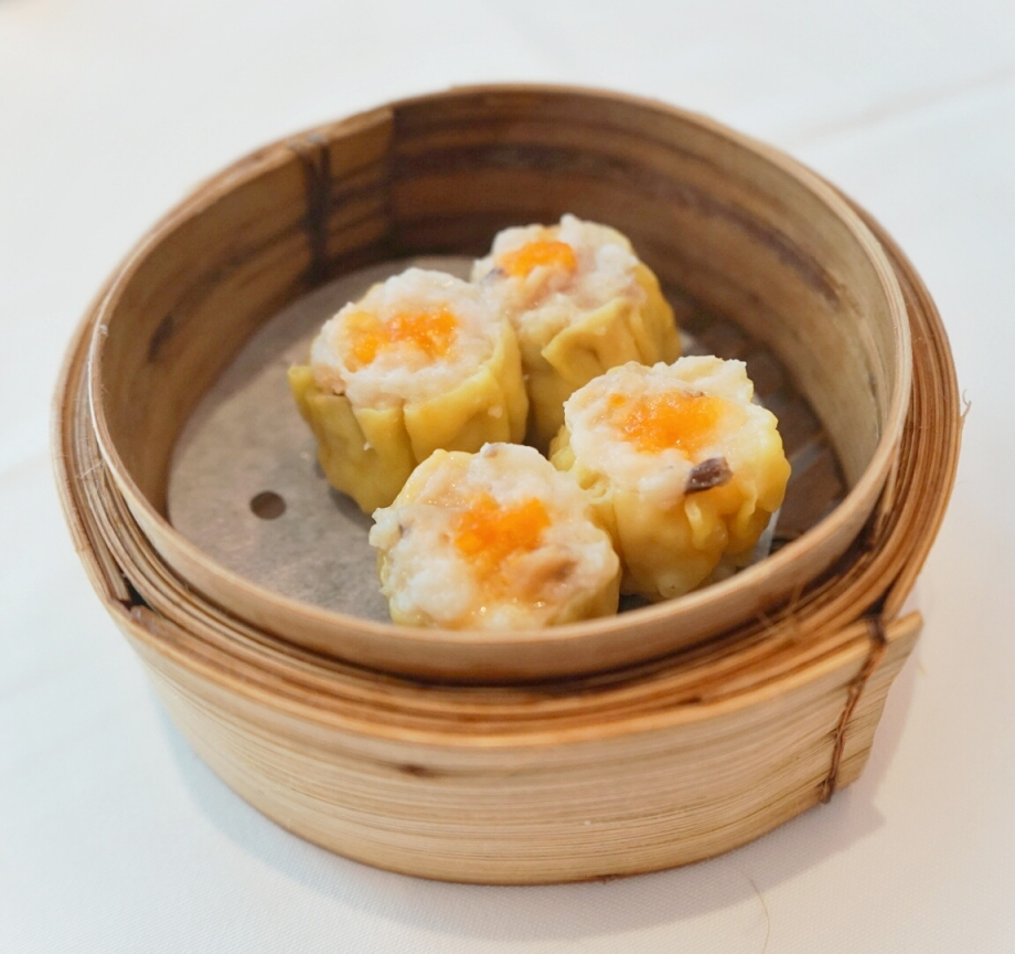 Steamed Siew Mai With Crab Roe The Cathay - AspirantSG