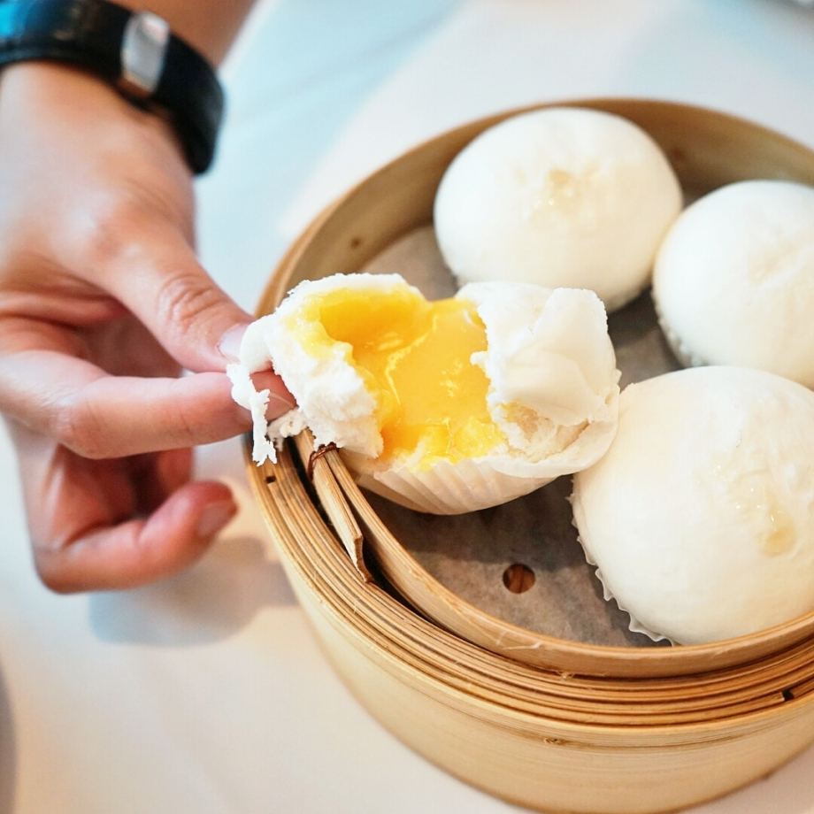 Steamed Yolk Cream Bun The Cathay - AspirantSG