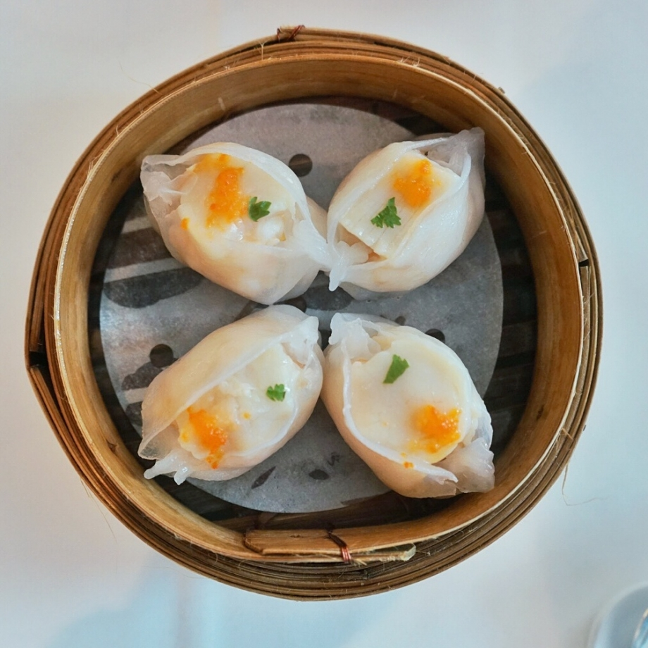 Steamed Scallop Dumpling The Cathay - AspirantSG
