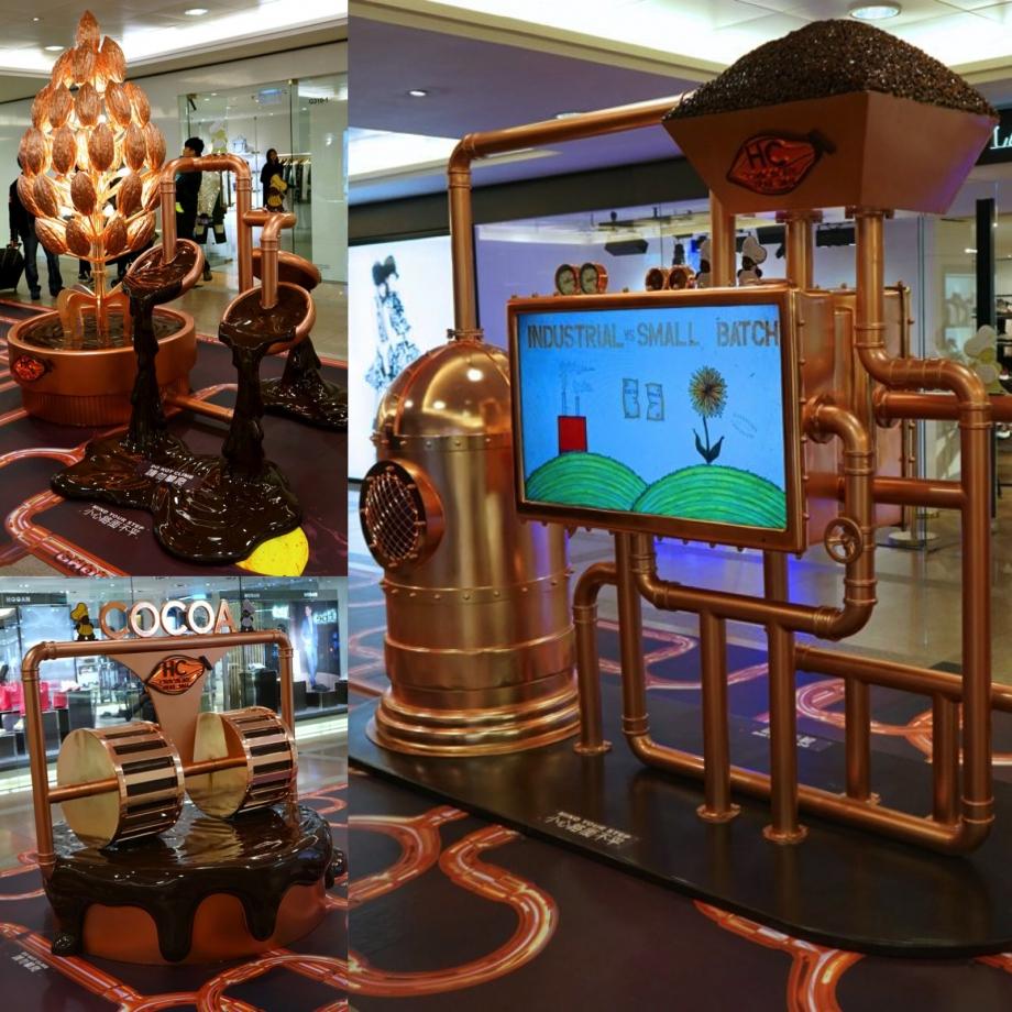Bean To Bar Chocolate Making Process Harbour City Hong Kong Chocolate Trail 2015 - AspirantSG
