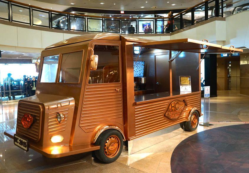 Chocolate Van At Harbour City Hong Kong Chocolate Trail - AspirantSG