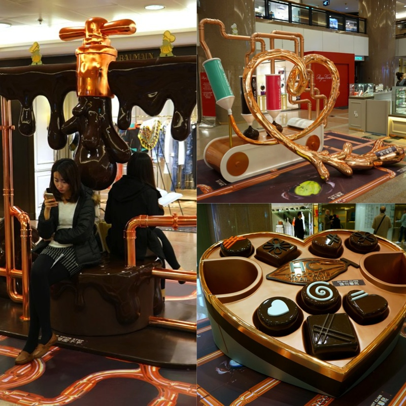Final Process Of Chocolate Factory Harbour City Chocolate Trail - AspirantSG