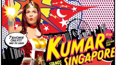 KUMAR – Our Bapok Superhero Stands Up For Singapore In April 2015!