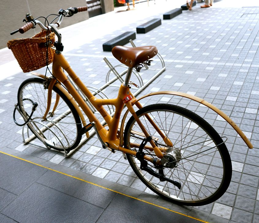 Bamboo Bicycles At ibis Singapore On Bencoolen - AspirantSG