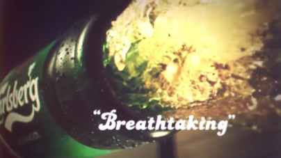Sponsored Video: Carlsberg Seduces With Erotic Ad For Valentine's Day 2015
