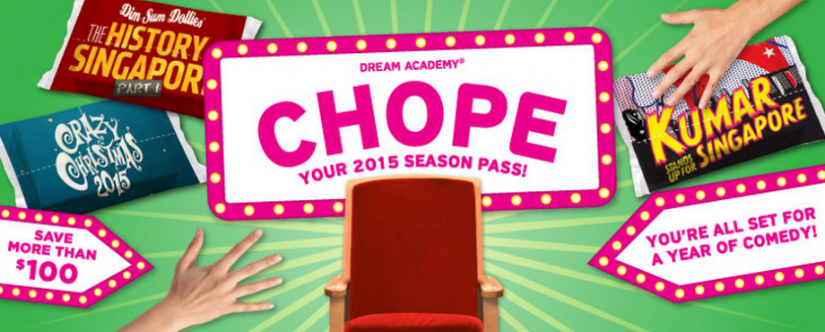 Dream Academy CHOPE Season Pass - AspirantSG