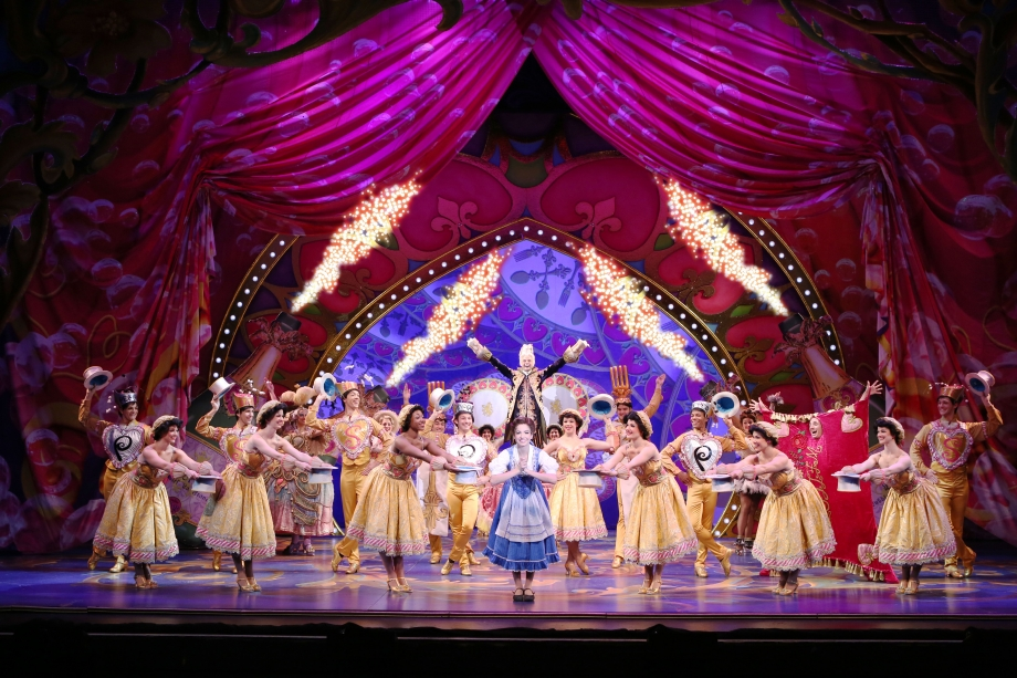 Hilary Maiberger As Belle & Cast of Beauty & The Beast Singapore - AspirantSG