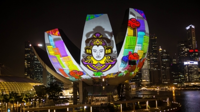 The iLight Marina Bay Festival 2014. Who knew it existed?