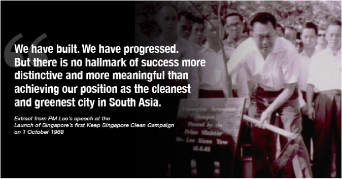 Nation Building By Mr Lee Kuan Yew