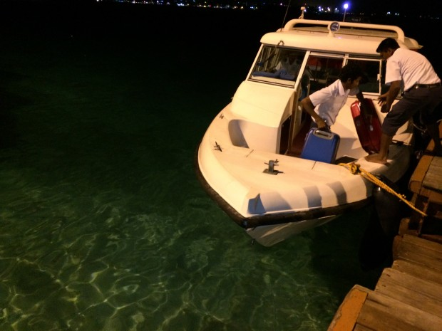 Boat from Male Airport To City - AspirantSG