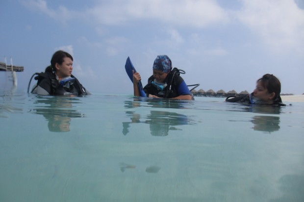 Diving Into Maldives Waters - AspirantSG