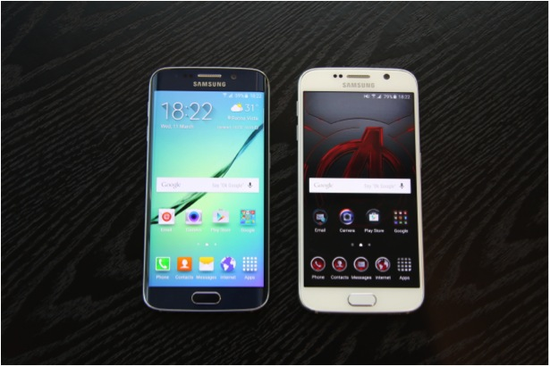 Side By Side Comparison Between S6 & S6 Edge Singapore - AspirantSG