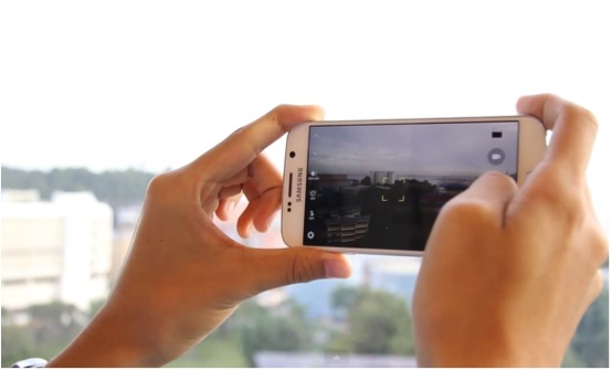 Taking Photos With Samsung S6 vs S6 Edge - AspirantSG