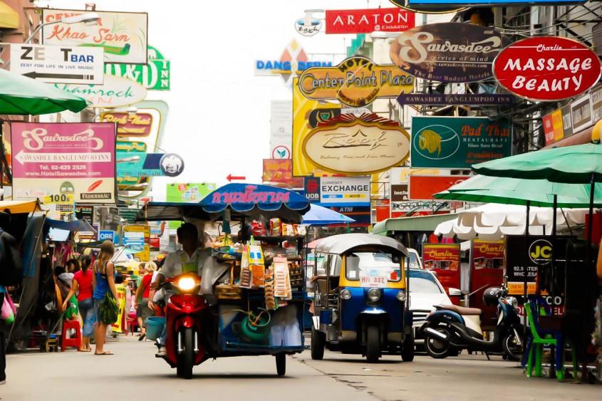 Khao San Road Bangkok - AspirantSG