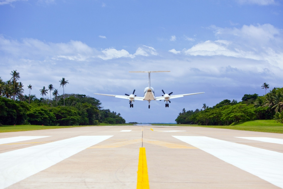 Arriving At Your Own Private Airport - AspirantSG