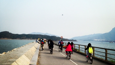 Cycling in Hong Kong: Tai Shui Hang, Ma On Shan & Tai Mei Tuk