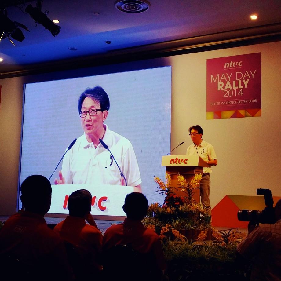 NTUC Secretary-General Lim Swee Say Speech