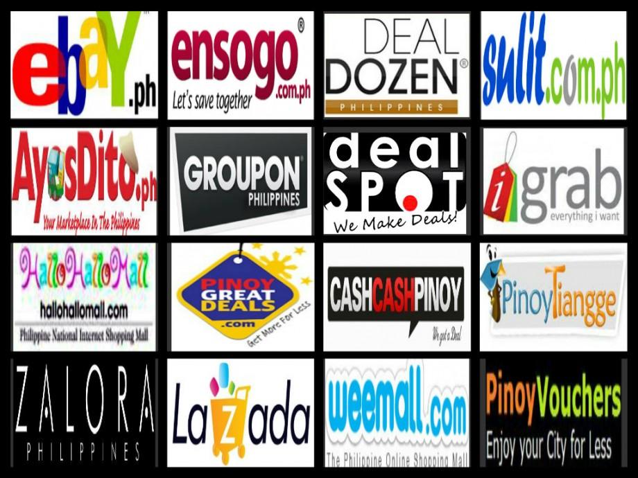 Online Shopping Websites - AspirantSG