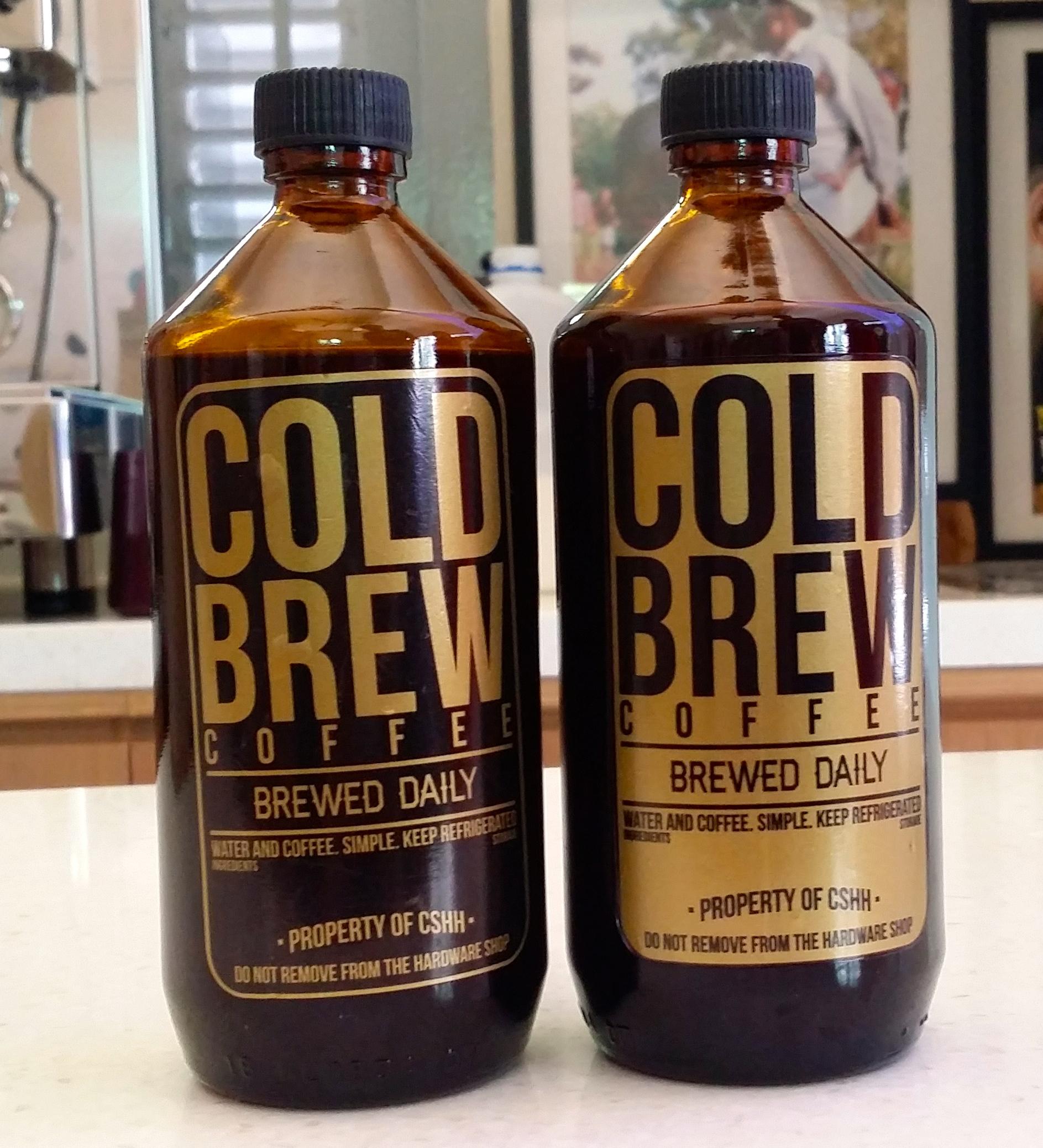 Cold Brew Chye Seng Huat Coffee - AspirantSG