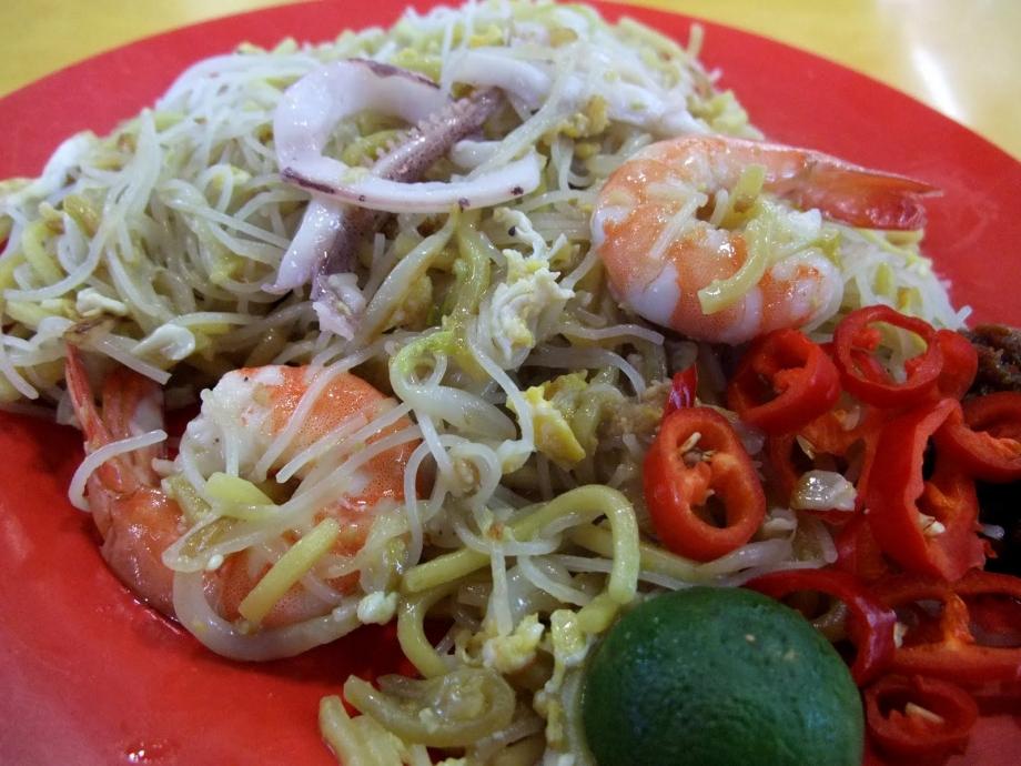 Ah Hock Fried Hokkien Noodles Singapore - AspirantSG