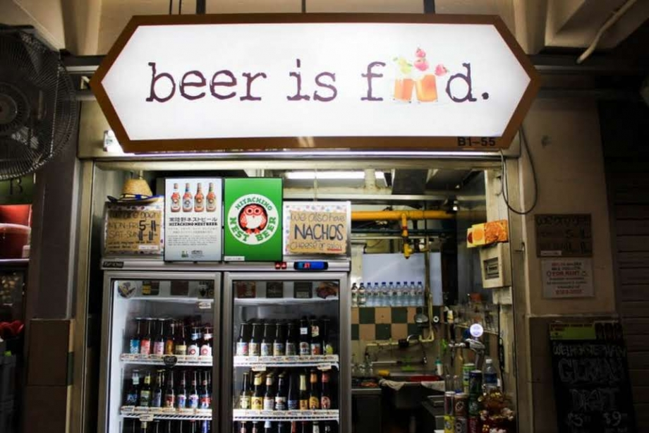 Beer Is Food Singapore - AspirantSG