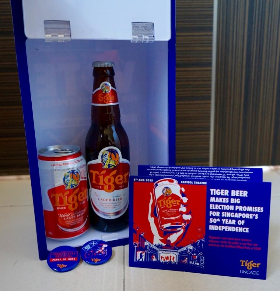 Brand New Tiger Beer Livery for SG50 - AspirantSG