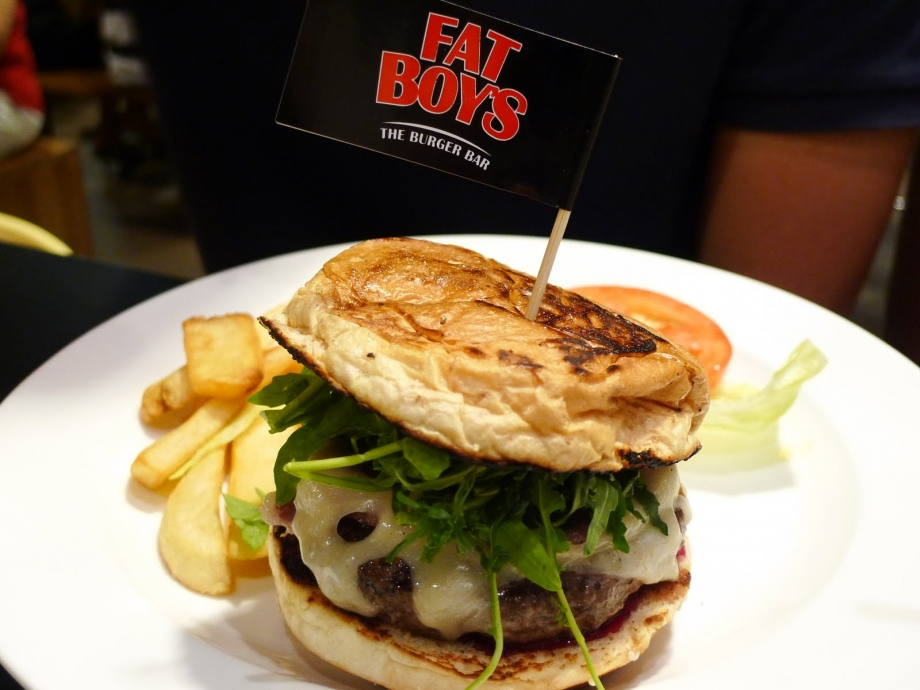 Fatboy's The Burger Bar Singapore - AspirantSG