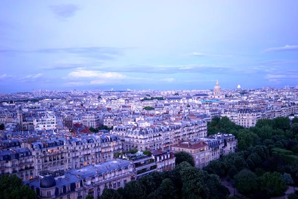City View From Eiffel Tower - AspirantSG