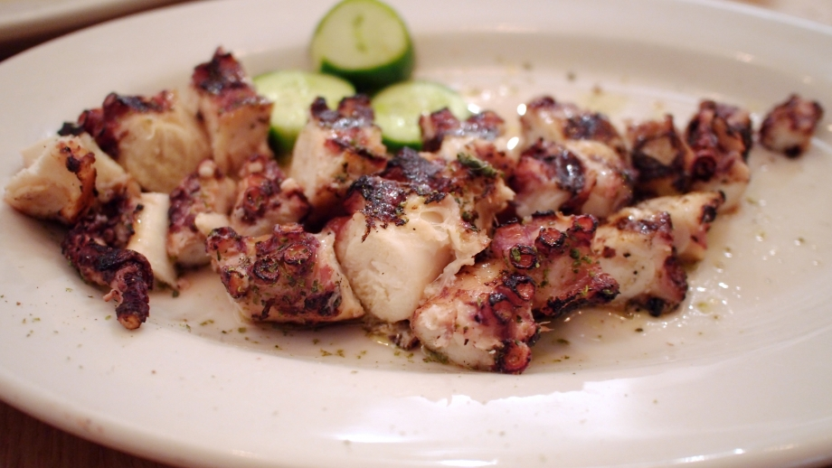 Taverna Kyclades Grilled Octopus NYC - AspirantSG