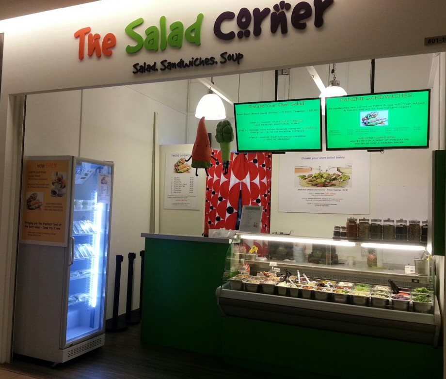 The Salad Corner Singapore - AspirantSG