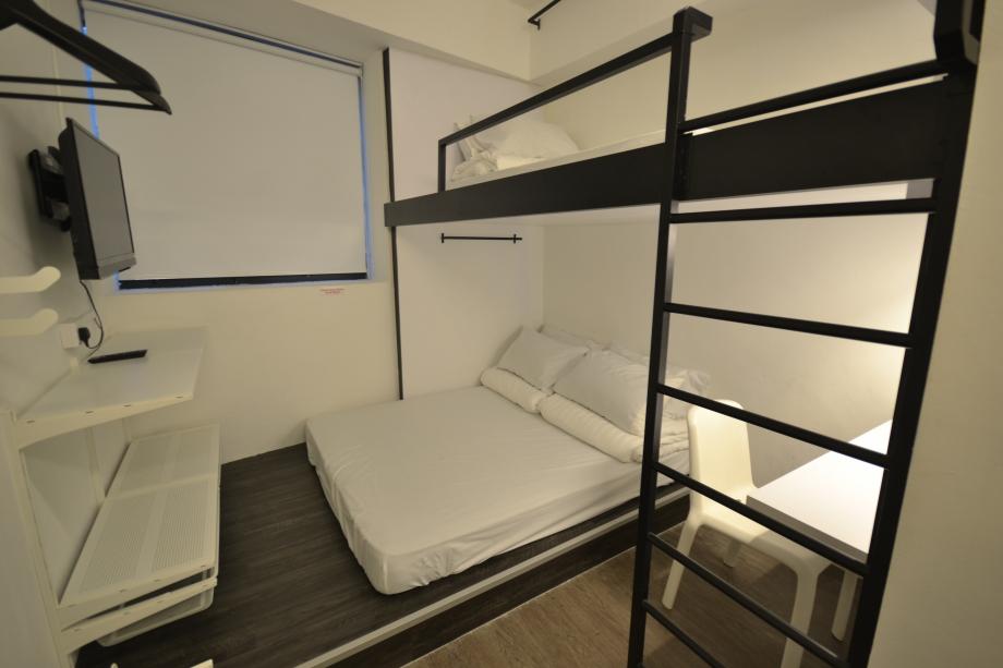 Bunc@Radius Hostel Singapore - AspirantSG