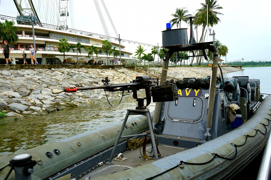 RHIBs Machine Gun - AspirantSG