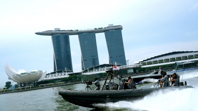 Singapore NDP 2014 Part 1 – Rigid Hull Inflatable Boat Ride