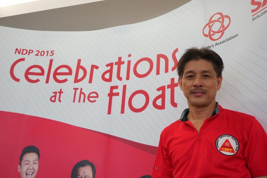 Frederick Yeo Lye Hock, PBM (58 years old, First Aider, Community Emergency Response Team [CERT])